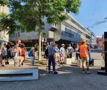 31.07.20 Exkursion – Personen- und Velounterführung Nord Bahnhof Winterthur